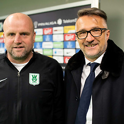 20190221: SLO, Football - Press conference of Robert Pevnik, NK Olimpija Ljubljana