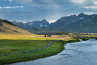 Salmon River Sawtooth Mountains Idaho