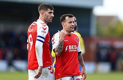 Fleetwood Town players react - Mandatory by-line: Matt McNulty/JMP - 27/04/2019 - FOOTBALL - Highbury Stadium - Fleetwood, England - Fleetwood Town v Bristol Rovers - Sky Bet League One