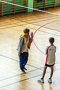 Badminton, Grand Prix Mazowsza for kids. KS Hubertus. photo by Piotr Gesicki