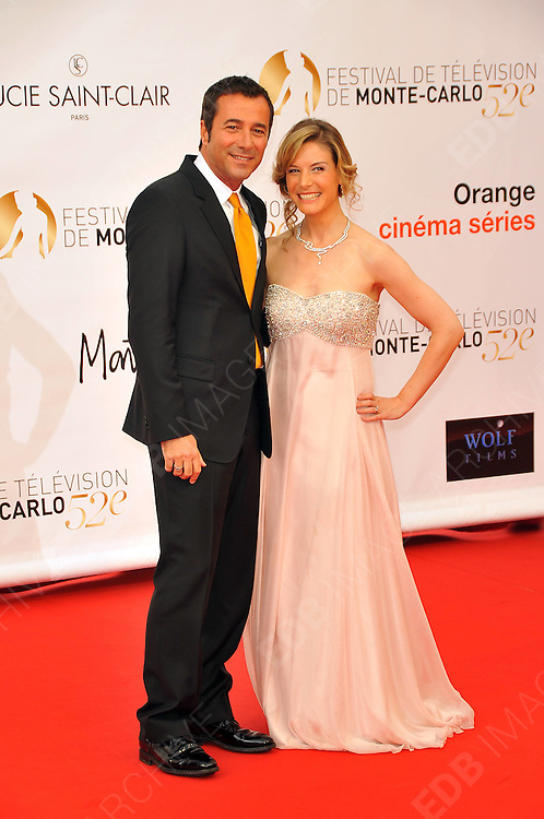 10.JUNE.2012. MONACO<br /> <br /> BERNARD MONTIEL AND LOUISE EKLAND ATTEND THE OPENING CEREMONY OF THE 52ND MONTE CARLO TELEVISION FESTIVAL HELD AT THE GRAMALDI FORUM.  <br /> <br /> BYLINE: EDBIMAGEARCHIVE.CO.UK<br /> <br /> *THIS IMAGE IS STRICTLY FOR UK NEWSPAPERS AND MAGAZINES ONLY*<br /> *FOR WORLD WIDE SALES AND WEB USE PLEASE CONTACT EDBIMAGEARCHIVE - 0208 954 5968*