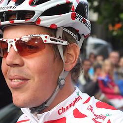 Sportfoto archief 2006-2010<br /> 2008<br /> Oostenrijker Bernhard Kohl pakte ooit de bollentrui maar verdween na doping voorgoed uit het peloton