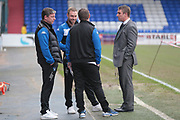 Lee Clark (Manager) (Bury) before the EFL Sky Bet League 1 match between Oldham Athletic and Bury at Boundary Park, Oldham, England on 11 March 2017. Photo by Mark P Doherty.