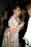 THE MARCHIONESS OF WORCESTER, Book launch party for  Sashenka, a romantic novel set in St Petersburg following a society girl who becomes involved with the Communist Party. By Simon Sebag-Montefiore. Asprey. New Bond St. London. 1 July 2008.  *** Local Caption *** -DO NOT ARCHIVE-© Copyright Photograph by Dafydd Jones. 248 Clapham Rd. London SW9 0PZ. Tel 0207 820 0771. www.dafjones.com.