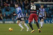 Kieran Lee (Sheffield Wednesday) during the Sky Bet Championship match between Sheffield Wednesday and Queens Park Rangers at Hillsborough, Sheffield, England on 23 February 2016. Photo by Mark P Doherty.