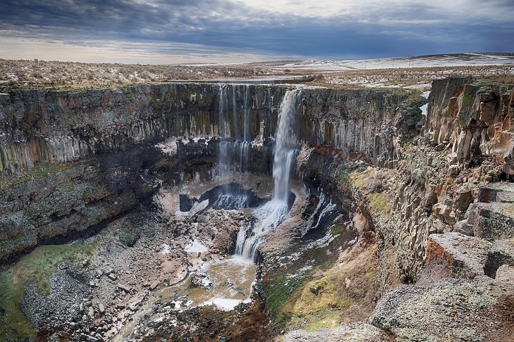 Deadman Falls, Idaho. Normally dry falls.