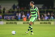 Forest Green Rovers Darren Carter (12) passes the ball during the Vanarama National League match between Forest Green Rovers and Eastleigh at the New Lawn, Forest Green, United Kingdom on 13 September 2016. Photo by Shane Healey.
