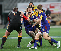 Dunedin-Rugby, Super 15, Highlanders v Chiefs