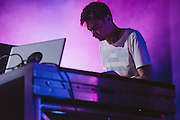 Photos of the musician Jon Hopkins performing live during Sónar Reykjavík music festival at Harpa concert hall in Reykjavík, Iceland. February 14, 2014. Copyright © 2014 Matthew Eisman. All Rights Reserved