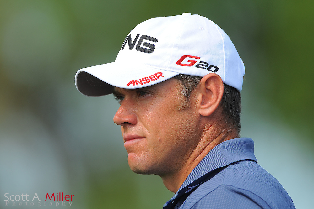 Lee Westwood during the first round of the Honda Classic at PGA National on March 1, 2012 in Palm Beach Gardens, Fla. ..©2012 Scott A. Miller.