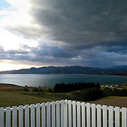 View to the south, Kaikoura, South Island, New Zealand. Photo by Jen Klewitz