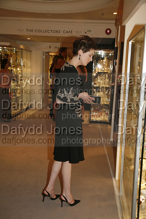 Jane Tippett, Gala champagne reception and dinner in aid of CLIC Sargent.  Grosvenor House Art and Antiques Fair.  Grosvenor House. Park Lane. London. 15  June 2006. ONE TIME USE ONLY - DO NOT ARCHIVE  © Copyright Photograph by Dafydd Jones 66 Stockwell Park Rd. London SW9 0DA Tel 020 7733 0108 www.dafjones.com