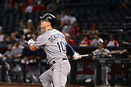 PHOENIX, AZ - JUNE 08:  Corey Dickerson #10 of the Tampa Bay Rays hits a solo home run in the first inning against the Arizona Diamondbacks at Chase Field on June 8, 2016 in Phoenix, Arizona.  (Photo by Jennifer Stewart/Getty Images)