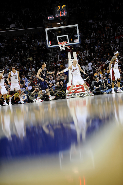 Zydrunas Ilgauskas of the Cleveland Cavaliers.