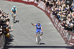 March 9, 2019 - Siena, Italia - Foto LaPresse - Fabio Ferrari.09 Marzo 2019 Siena (Italia).Sport Ciclismo.Strade Bianche 2019 - Gara uomini - da Siena a Siena - 184 km (114,3 miglia).Nella foto: Julian Alaphilippe (Deceuninck - Quick-Step), vincitore..Photo LaPresse - Fabio Ferrari.March, 09 2019 Siena (Italy) .Sport Cycling.Strade Bianche 2018 - Men's race - from Siena to Siena - 184 km (114,3 miles).In the pic: Julian Alaphilippe (Deceuninck - Quick-Step) , winner (Credit Image: © Fabio Ferrari/Lapresse via ZUMA Press)