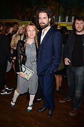 JOSEPHINE DE LA BAUME and JACK GUINNESS at the the London Collections: Men 2013 Ben Sherman and Shortlist Magazine party at Sketch, Conduit Street, London on 18th June 2013.
