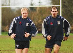 Tommy Ellard & Mark Gillen..Pic Conor McKeown