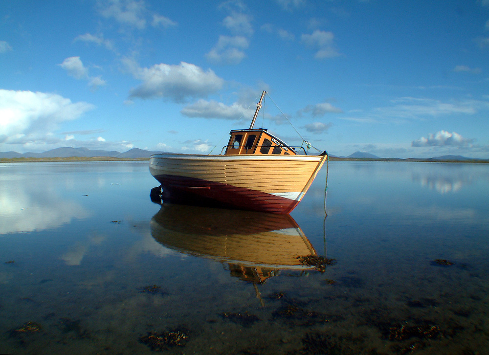 The Arctic Cloud, a fishing boat in Westport, County Mayo, Ireland.