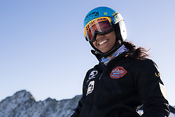 26.10.2018, Rettenbachferner, Soelden, AUT, FIS Weltcup Ski Alpin, Soelden, Training, im Bild Mialitiana Clerc (MAD) // Mialitiana Clerc of Madagascar during a practice session prior to the FIS Ski Alpine Worldcup opening at the Rettenbachferner in Soelden, Austria on 2018/10/26. EXPA Pictures © 2018, PhotoCredit: EXPA/ Johann Groder
