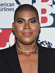 September 23, 2017 - Beverly Hills, California, U.S. - EJ Johnson arrives for the LGBT Center's 48th Annual Vanguard Awards at the Beverly Hilton Hotel. (Credit Image: © Lisa O'Connor via ZUMA Wire)
