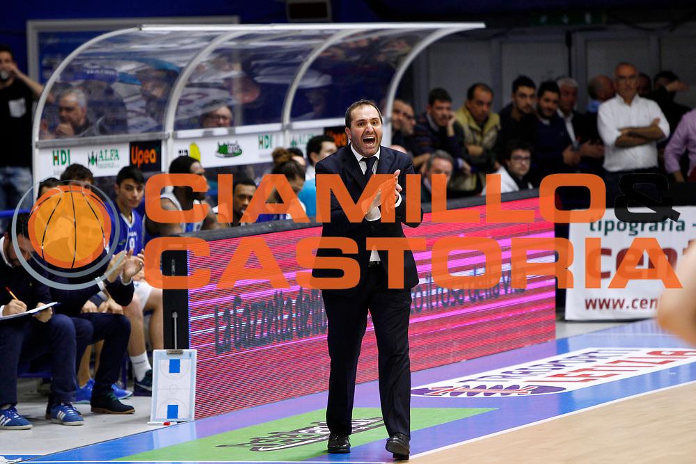 DESCRIZIONE : Capo dOrlando Lega A 2015-16 Betaland Capo d Orlando Manital Auxilium Cus Torino<br /> GIOCATORE : Gennaro Di Carlo<br /> CATEGORIA : Head Coach <br /> SQUADRA : Orlandina Basket<br /> EVENTO : Campionato Lega A Beko 2015-2016 <br /> GARA : Betaland Capo d Orlando Manital Auxilium Cus Torino<br /> DATA : 13/03/2016<br /> SPORT : Pallacanestro <br /> AUTORE : Agenzia Ciamillo-Castoria/G.Pappalardo<br /> Galleria : Lega Basket A 2015-2016<br /> Fotonotizia : Capo dOrlando Lega A 2015-16 Betaland Capo d Orlando Manital Auxilium Cus Torino