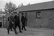 18/05/1961<br /> 05/18/1961<br /> 18 May 1961<br /> U.S. Ambassador Edward Grant Stockdale visits relatives of President John F. Kennedy at Dunganstown, Co. Wexford. The ambassador arriving at the house.