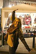 Mannheim. 24.10.14 Musik in Kellern und Hinterh&ouml;fen, Streetart-Aktionen, Lesungen, Lichtinstallationen: Tausende Besucher sind gestern Abend zum 11. &quot;Nachtwandel&quot;-Kulturfest in den Jungbusch gekommen.<br /> WMM<br /> Bild: Markus Pro&szlig;witz 24OCT14 / masterpress (Bild ist honorarpflichtig)