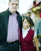 Couple, Dalston Market, London, UK, 2000s.