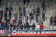 ALKMAAR - 06-03-2016, AZ - Excelsior, AFAS Stadion, 2-0, uitvak, supporters.