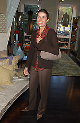 LADY PALUMBO at a lunch at Allegra Hicks, 28 Cadogan Place, London to view their new collection of handbags by F.O.U. on 20th October 2005.<br /><br />NON EXCLUSIVE - WORLD RIGHTS