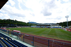General View of San Marino Stadium  - Mandatory byline: Joe Meredith/JMP - 07966386802 - 05/09/2015 - FOOTBALL- INTERNATIONAL - San Marino Stadium - Serravalle - San Marino v England - UEFA EURO Qualifers Group Stage