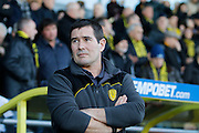 Burton Albion manager Nigel Clough during the EFL Sky Bet Championship match between Burton Albion and Wolverhampton Wanderers at the Pirelli Stadium, Burton upon Trent, England on 4 February 2017. Photo by Richard Holmes.