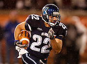 CHATTANOOGA, TN - DECEMBER 18:  Running back Angelo Babbaro #22 of the Villanova Wildcats runs with the ball during the game against the Montana Grizzlies at Finley Stadium on December 18, 2009 in Chattanooga, Tennessee.  The Wildcats beat the Grizzlies 23-21.  (Photo by Mike Zarrilli/Getty Images)