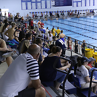 Hundreds of people showed up to watch the Souther Zone Swimming competition Saturday at the Tupelo Aquatic Center