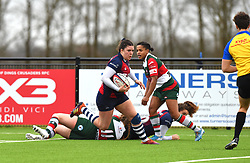 Phoebe Murray of Bristol Bears Women has her eyes on the white-wash - Mandatory by-line: Paul Knight/JMP - 11/01/2020 - RUGBY - Shaftesbury Park - Bristol, England - Bristol Bears Women v Firwood Waterloo Women - Tyrrells Premier 15s