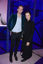 OTIS FERRY and EDIE CAMPBELL at a party to celebrate 25 years of John Frieda held at Claridge's, Brook Street, London on 29th October 2013.