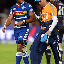 DURBAN, SOUTH AFRICA - MAY 31: Kurt Coleman of the DHL Stormers during the Super Rugby match between Cell C Sharks and  DHL Stormers at Growthpoint Kings Park on May 31, 2014 in Durban, South Africa. (Photo by Steve Haag/Gallo Images)
