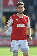 Rotherham United midfielder Lee Frecklington (8) during the Sky Bet Championship match between Rotherham United and Leeds United at the New York Stadium, Rotherham, England on 2 April 2016. Photo by Ian Lyall.