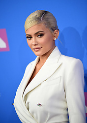 August 20, 2018 - New York, New York, U.S. - KYLIE JENNER arriving at the 2018 MTV Video Music Awards at Radio City Music Hall on August 20, 2018 in New York City  (Credit Image: © Kristin Callahan/Ace Pictures via ZUMA Press)