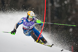 17.02.2013, Planai, Schladming, AUT, FIS Weltmeisterschaften Ski Alpin, Slalom, Herren, 1. Durchgang, im Bild Jens Byggmark (SWE) // Jens Byggmark of Sweden in action during 1st run of the mensSlalom at the FIS Ski World Championships 2013 at the Planai Course, Schladming, Austria on 2013/02/17. EXPA Pictures © 2013, PhotoCredit: EXPA/ Johann Groder