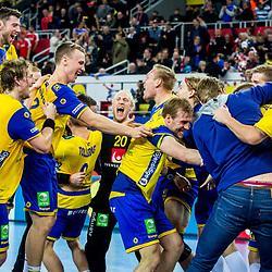 20180126: CRO, Handball - EHF Euro Croatia 2018 - Denmark vs Sweden