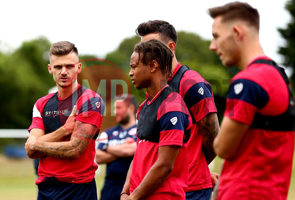 Jamie Paterson looks on as Bristol City return to training ahead of their 2017/18 Sky Bet Championship campaign - Mandatory by-line: Robbie Stephenson/JMP - 30/06/2017 - FOOTBALL - Failand Training Ground - Bristol, United Kingdom - Bristol City Pre Season Training - Sky Bet Championship