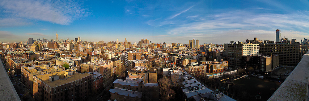 Taken from a rooftop in Spanish Harlem.