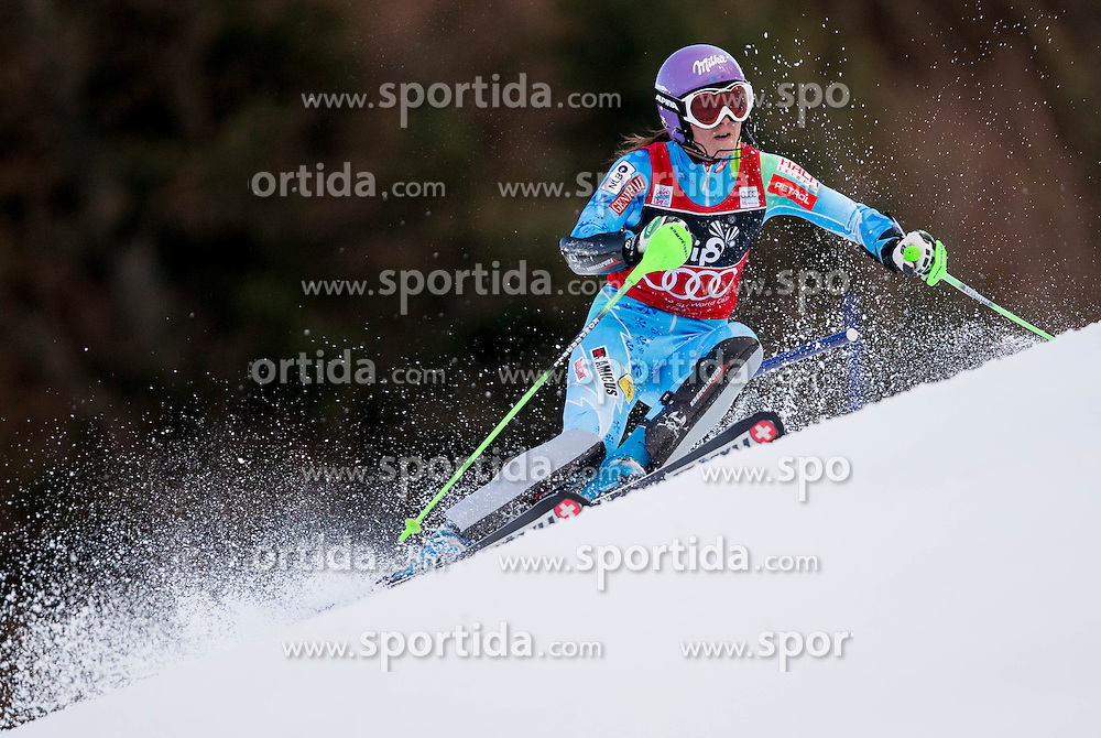 "MAZE Tina of Slovenia competes during FIS Alpine Ski World Cup 6th Ladies' Slalom race named ""Snow Queen Trophy 2013"", on January 4, 2013 in Sljeme hill at Zagreb, Croatia. (Photo By Vid Ponikvar / Sportida.com)"