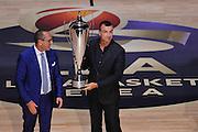 Egidio Bianchi, Livio Proli<br /> Presentazione Campionato Lega Basket 2016-2017<br /> Basket Serie A  2016<br /> Milano 26/09/2016<br /> Foto Ciamillo-Castoria