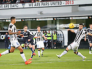 Dundee's Nick Ross shoots for goal  - Dunfermline Athletic v Dundee - Scottish League Cup at East End Park<br /> <br />  - © David Young - www.davidyoungphoto.co.uk - email: davidyoungphoto@gmail.com