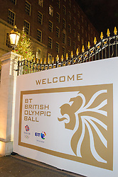 BT Olympic Ball, held at the Grosvenor Hotel, London, UK, November 30, 2012. Photo By Anthony Upton / i-Images.