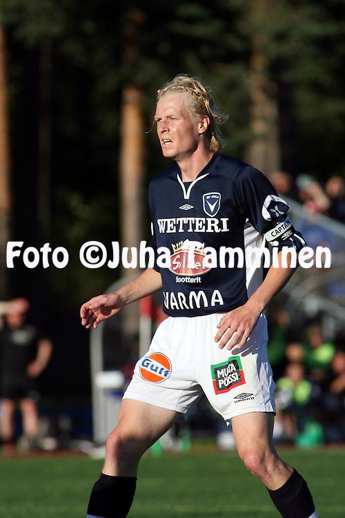 22.07.2007, Castrenin Urheilupuisto, Oulu, Finland..Veikkausliiga 2007 - Finnish League 2007.AC Oulu - FC Honka.Janne Hietanen - AC Oulu.©Juha Tamminen.....ARK:k