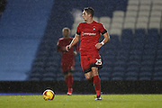 Leyton Orient defender Aron Pollock (25) during the EFL Trophy Southern Group G match between U23 Brighton and Hove Albion and Leyton Orient at the American Express Community Stadium, Brighton and Hove, England on 8 November 2016.
