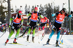 March 10, 2019 - –Stersund, Sweden - 190310 Jakov Fak of Slovenia during the Men's 12,5 km Pursuit during the IBU World Championships Biathlon on March 10, 2019 in Östersund..Photo: Petter Arvidson / BILDBYRÃ…N / kod PA / 92255 (Credit Image: © Petter Arvidson/Bildbyran via ZUMA Press)